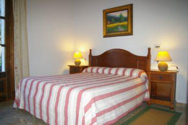 Finca Sa Sinia - Schlafzimmer im EG mit Doppelbett