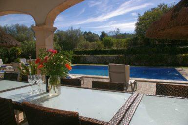Finca Sa Sinia - Blick auf den Pool