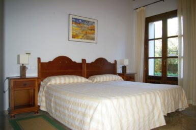 Finca Sa Sinia - Schlafzimmer im EG