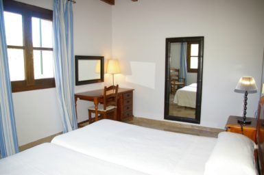 Finca Sa Sinia - Schlafzimmer mit Klimaanlage