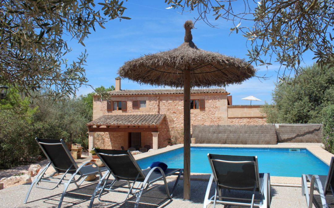 Finca Mallorca nahe Porreres zum mieten