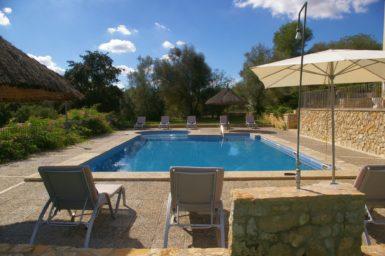 Finca Son Capellet - Pool mit Ausblick