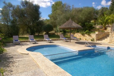 Finca Son Capellet - Pool Kinderbereich