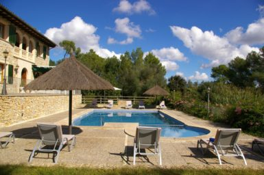 Finca Son Capellet - Pool mit Kinderbereich