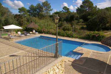 Finca Son Capellet - Blick auf den Pool