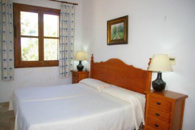 Finca Son Capellet - Schlafzimmer mit Doppelbett