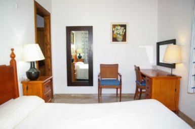 Finca Son Capellet - Schlafzimmer mit Bad en Suite
