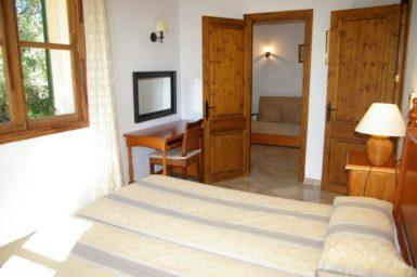 Finca Son Capellet - Schlafzimmer mit Klima