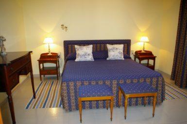 Finca Son Granada - Schlafzimmer mit Doppelbett