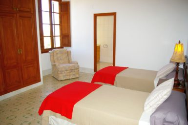 Finca Son Granada - Schlafzimmer von 12 Personen Finca