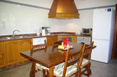 Finca Son Perxa - Küche mit Essplatz