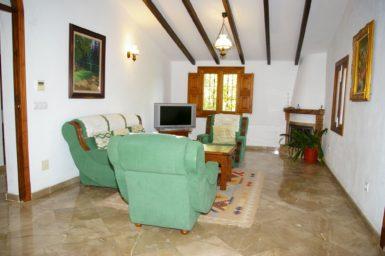 Finca Son Perxa - weiterer Wohnbereich mit Sat-TV