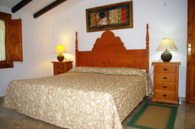 Finca Son Perxa - Schlafzimmer mit Doppelbett