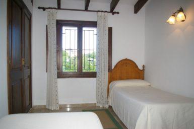 Finca Son Perxa - Schlafzimmer mit 2 Einzelbetten