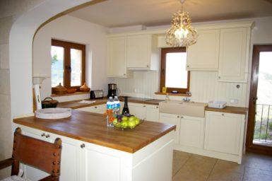 Finca Vall Dor - die Küche