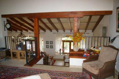 Finca Vall Dor - offener Wohnbereich