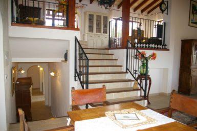 Finca Vall Dor - Aufgang zum Wohnbereich