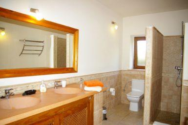 Finca Vall Dor - Bad mit Dusche