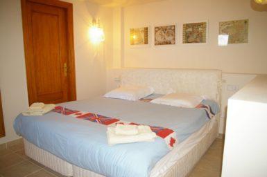 Finca Vall Dor - Schlafzimmer im Gästehaus
