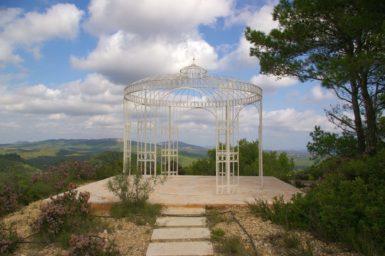 Finca Vall Dor - Pavilion mit Ausblick