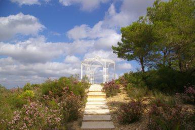 Finca Vall Dor - Weg zum Aussichtspunkt
