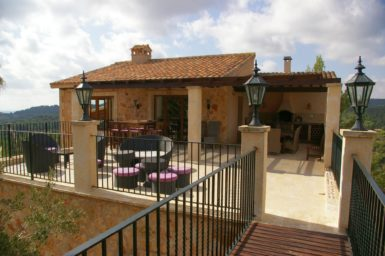 Finca Vall Dor - obere Terrasse
