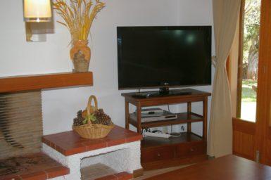 Finca Sanau - Sat-TV im Wohnbereich