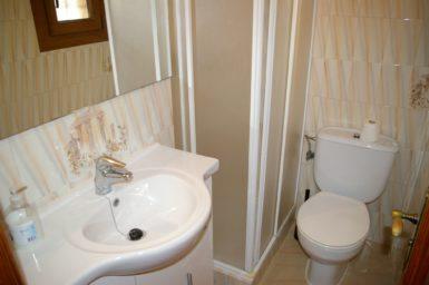 Finca Sanau - Gäste WC mit Dusche