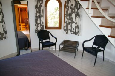 Finca Sanau - Schlafzimmer im Turm