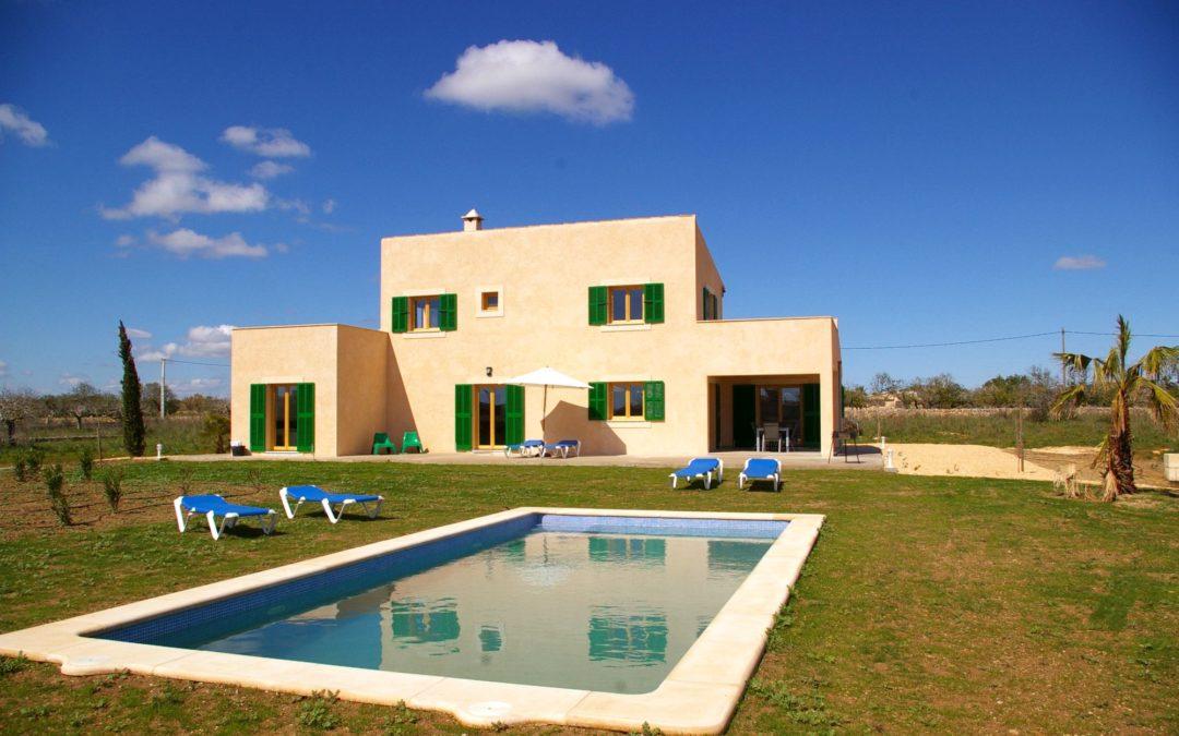 Strandnahe Finca Mallorca mit Pool