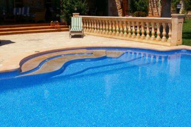 Pool mit Whirlpoolfunktion