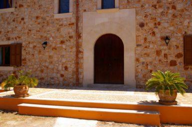 Eingang in die Finca Manuela