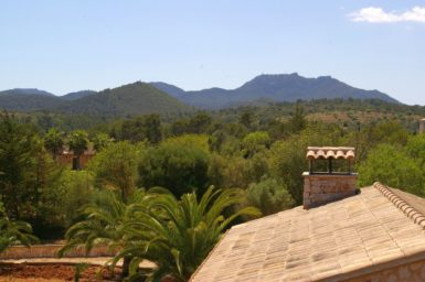 Blick vom Balkon der Finca Manuela
