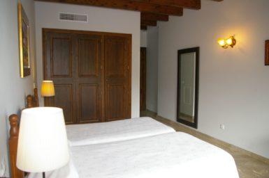 Finca Sa Pleta - Schlafzimmer mit Klima und Bad en Suite