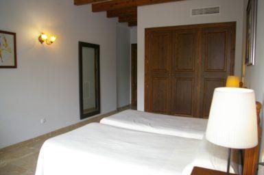 Finca Sa Pleta - Schlafzimmer mit Klima