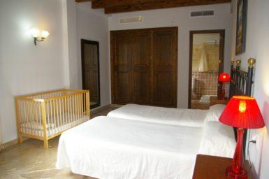 Finca Sa Pleta - Schlafzimmmer mit Klima und Bad en Suite