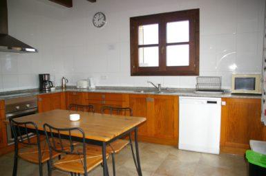 Finca Sa Pleta - Küche mit Spülmaschine