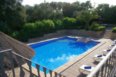Finca Sa Pleta - Pool mit Poolterrasse