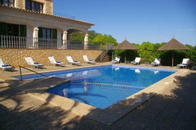 Finca Sa Pleta - Pool mit Kinderbereich