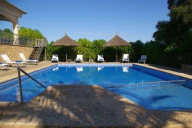 Finca Sa Pleta - Pool mit Sonnenliegen