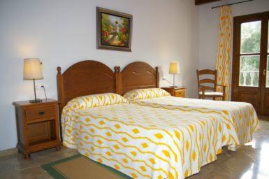 Finca Sa Pleta - Schlafzimmer mit Doppelbett