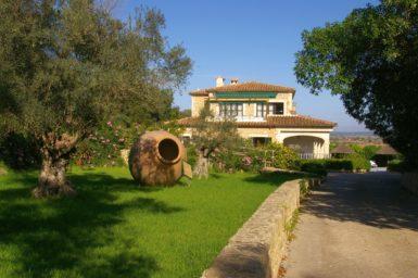 Finca Sa Pleta - schöner Garten