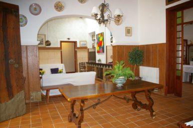 Finca Tomeu - Wohnbereich bei 2 Schlafzimmern
