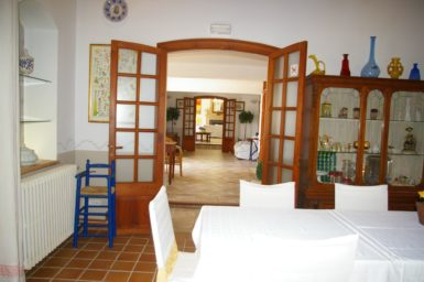 Finca Tomeu - Eingang zum Essbereich