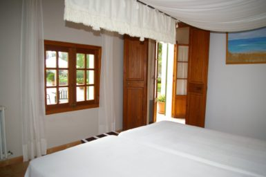 Finca Tomeu - Schlafzimmer mit eigenem Eingang