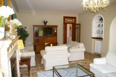 Finca Tomeu - Wohnbereich mit Sat_TV