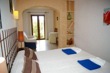 Doppelschlafzimmer Finca Sa Mola