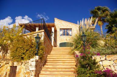 Finca Vall Dor - Treppe zur Finca
