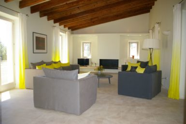 Wohnbereich Finca Carrossa Cinco