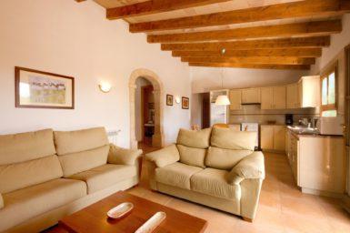 Wohnbereich Finca Sa Caseta